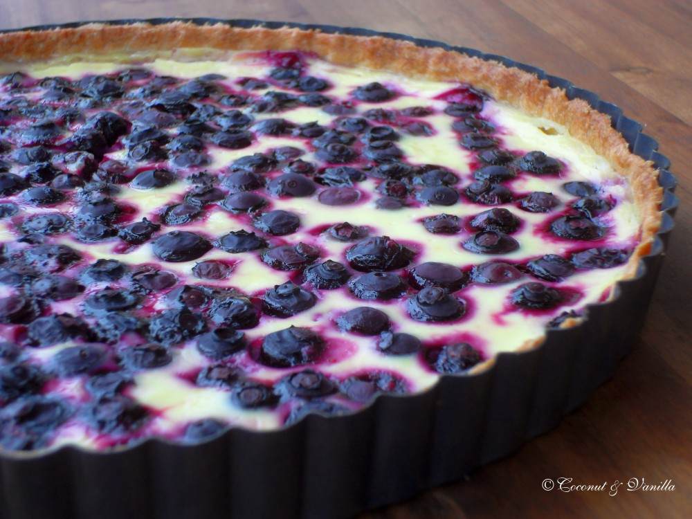 blueberry lemon tart